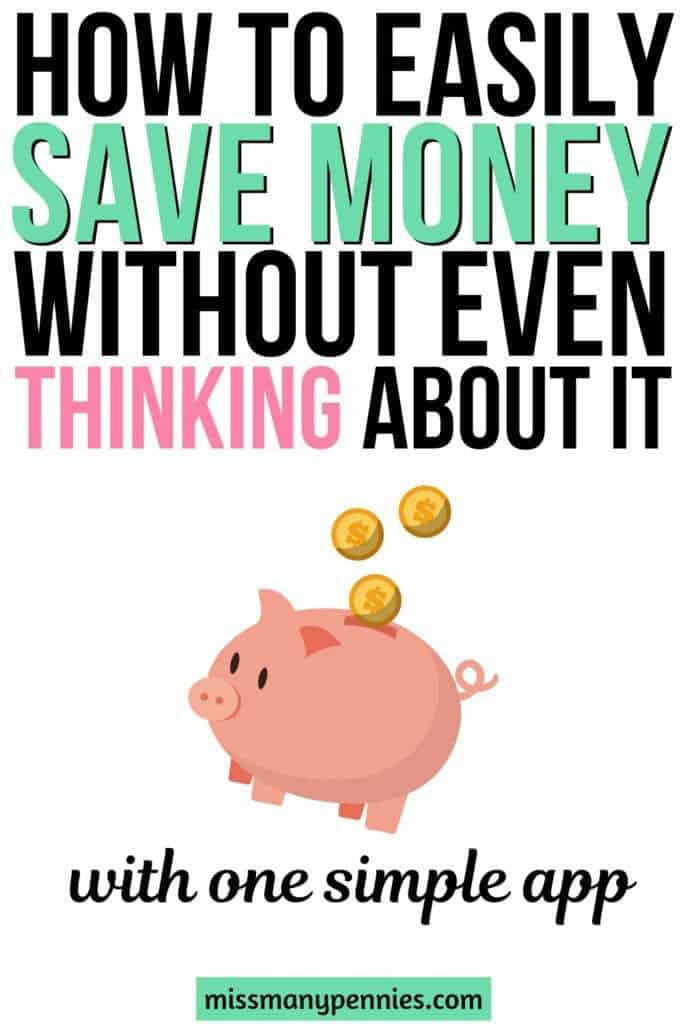 How to easily save money without even thinking about it