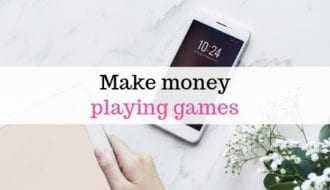 Make money playing games