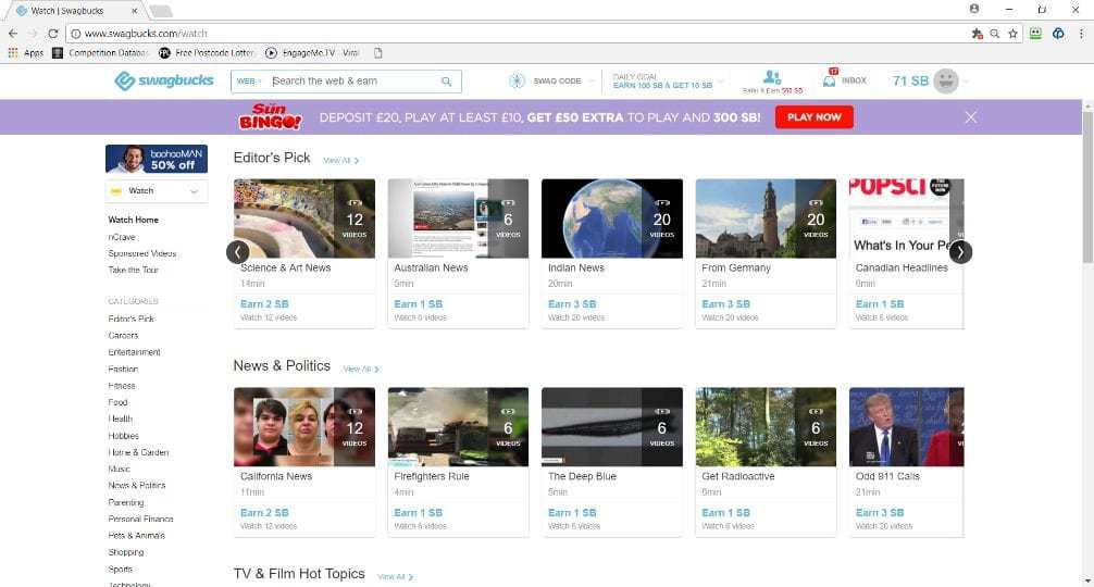 Image of video section.