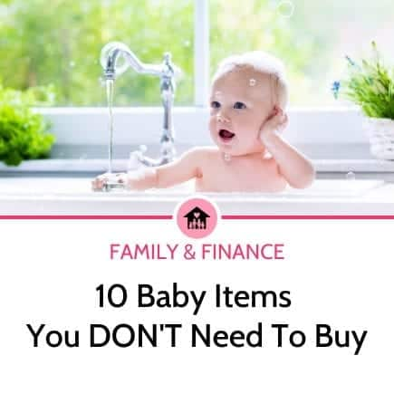 10 baby items you don't need to buy