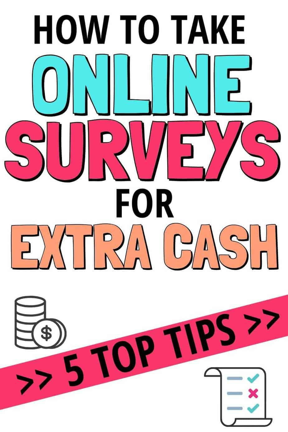 How to take online surveys for extra cash