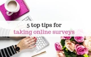 tips for taking surveys