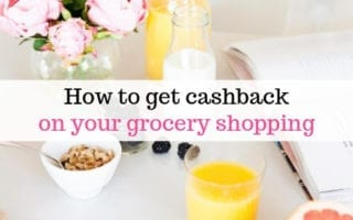 cashback on grocery shopping