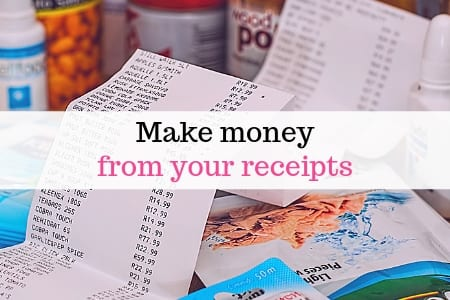 Make money from your receipts