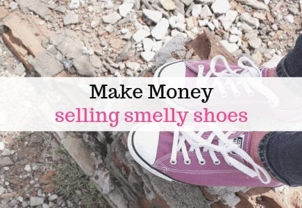 selling smelly shoes