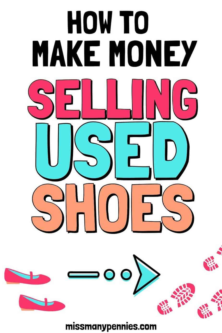 how to make money selling used shoes