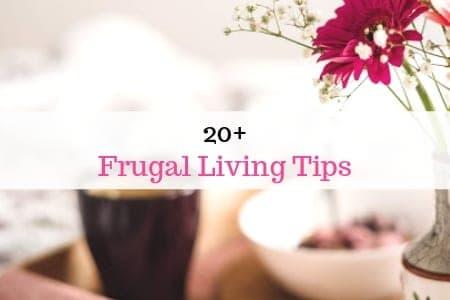 20+ Frugal Living Tips