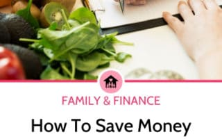 Save money meal planning