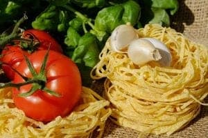 Eat well on a budget, fresh food and noodles