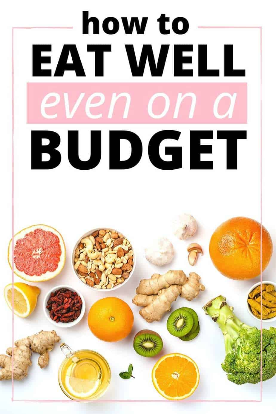 How to eat well even on a budget