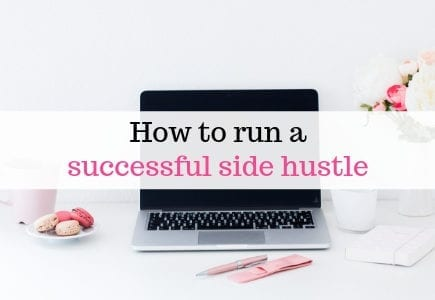 How to run a successful side hustle