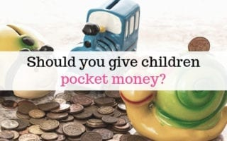 Should you give children pocket money?