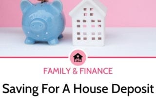saving for a house deposit as a family