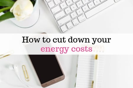 Cut down energy costs