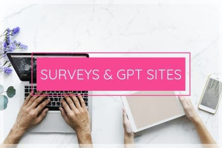 Surveys and GPT Sites