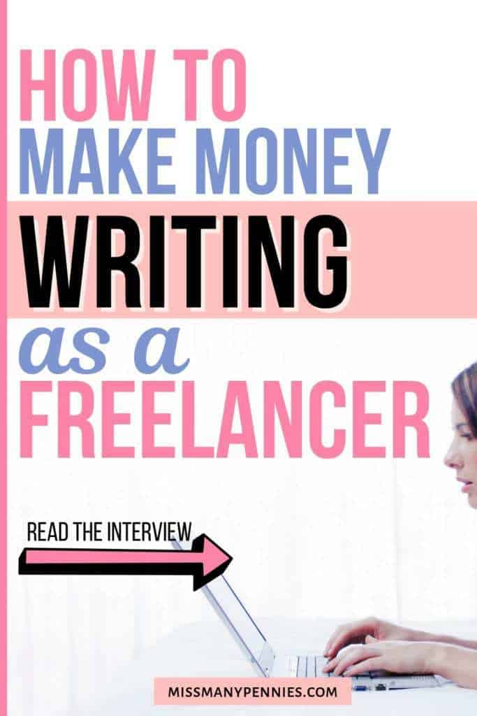 How to make money writing as a freelancer
