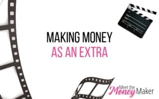 How to make money as an extra