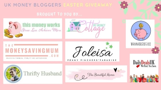 Easter giveaway logos