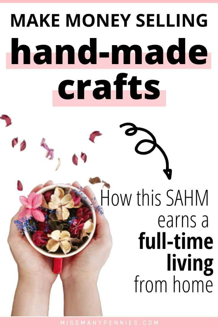 make money selling hand made crafts