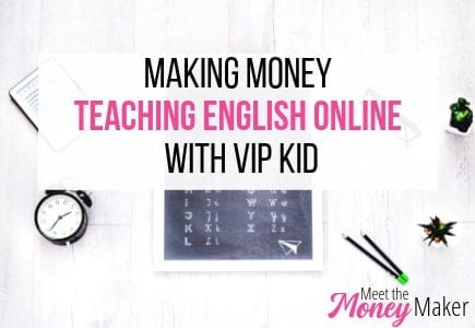 Making money teaching English online with vip kid