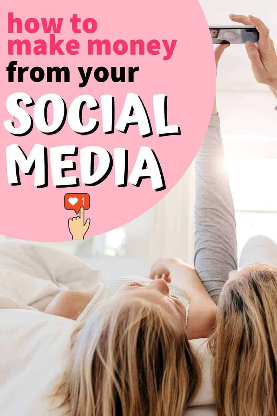 How to make money from your social media