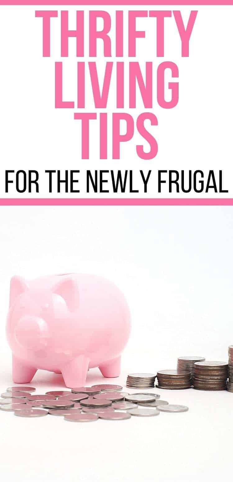 thrifty living tips