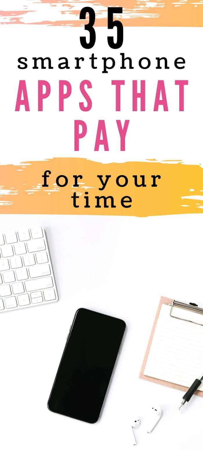 35 apps that pay for your time