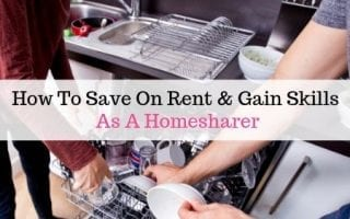 How to save on rent and gain skills as a homesharer