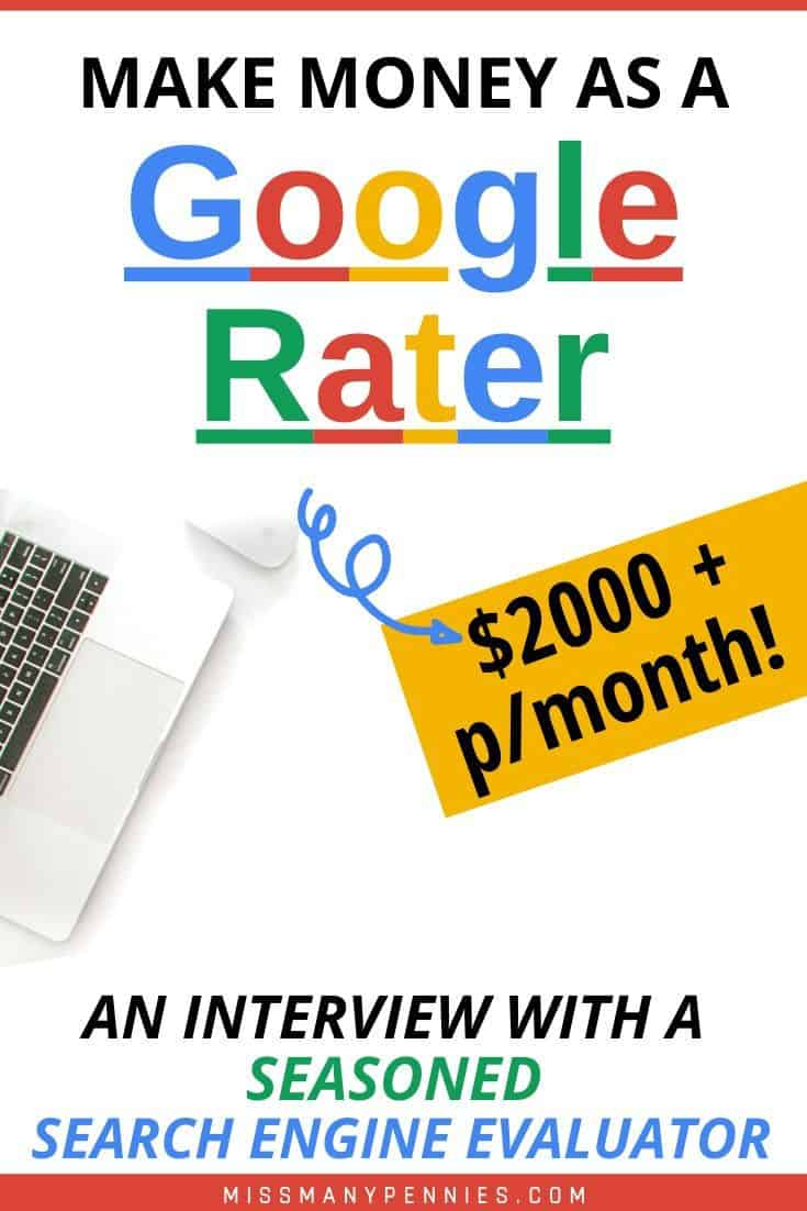 make money as a google rater