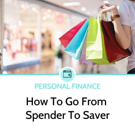 How to go from spender to saver
