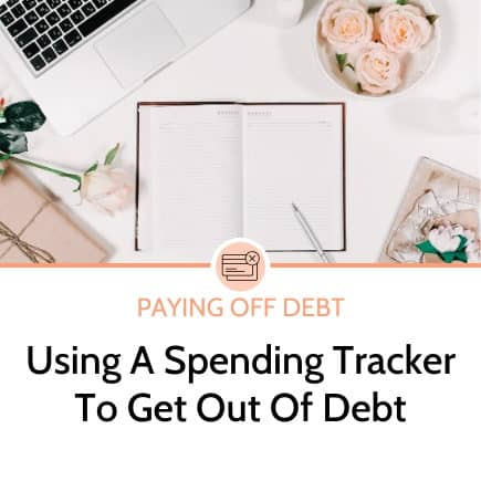 Why using a spending tracker can help you get out of debt