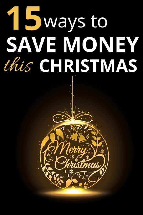 15 ways to save money at Christmas