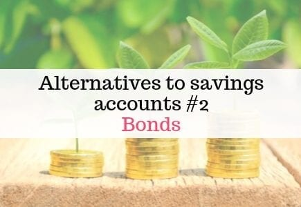 alternatives to savings accounts - bonds