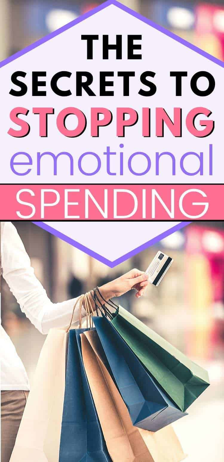 the secrets to stopping emotional spending