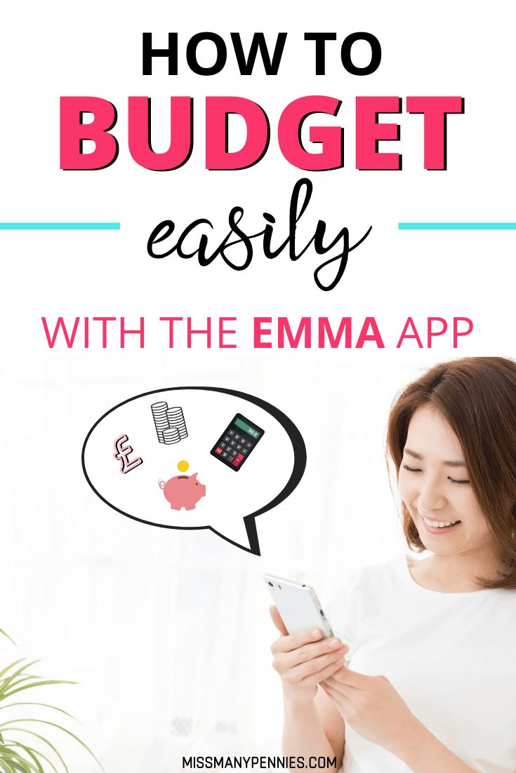 How to budget easily with the Emma App
