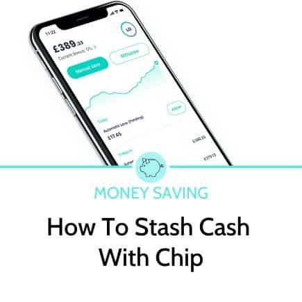 how to stash cash with chip