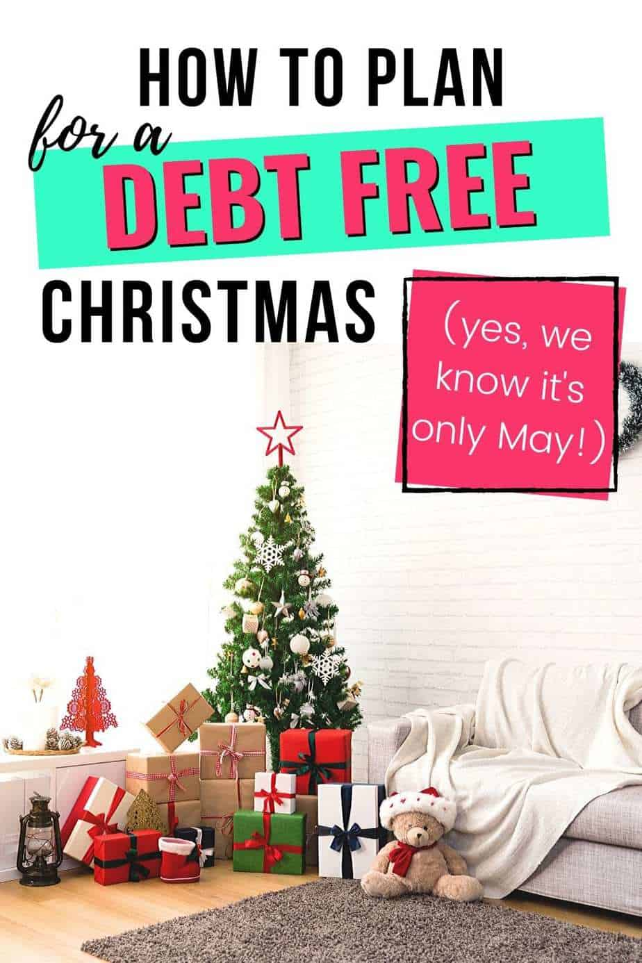 How to plan a debt free Christmas