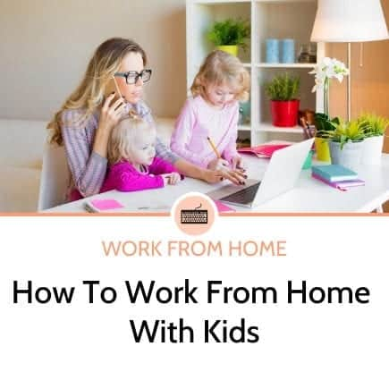 Top tips for working from home with young kids