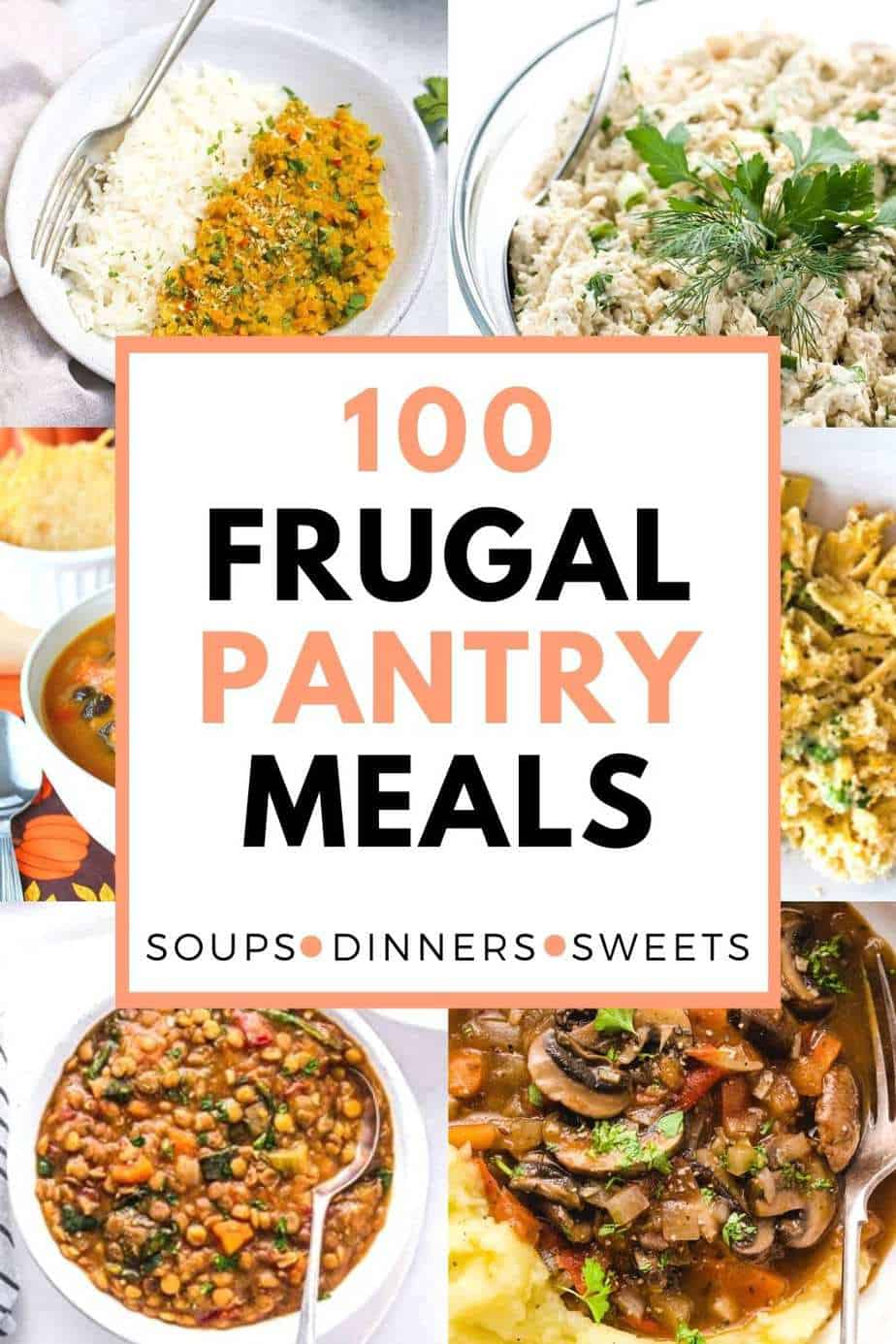 100 frugal pantry recipes