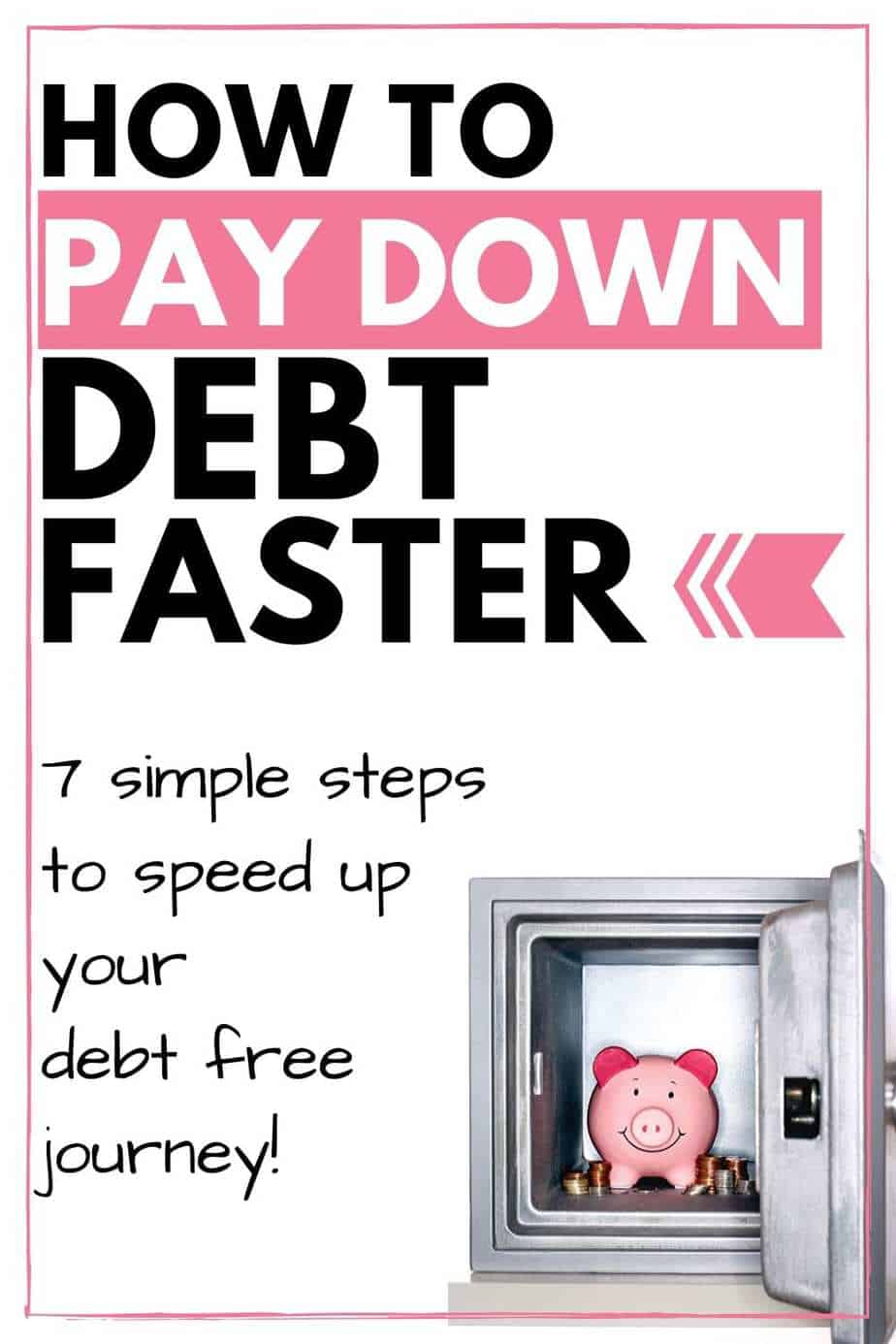 How to pay down debt faster