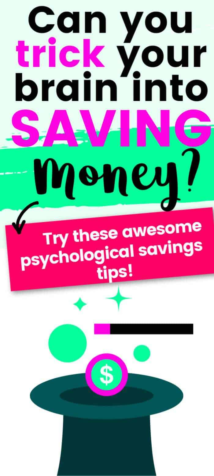 can you trick your brain into saving money?