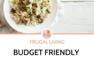 Budget Friendly Pantry Meals