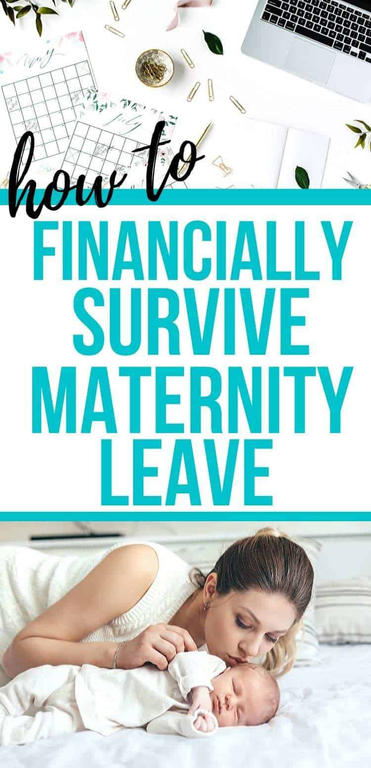 How to financially survive maternity leave