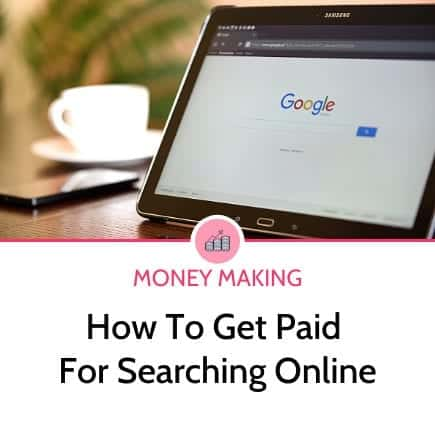 How to get paid for searches online