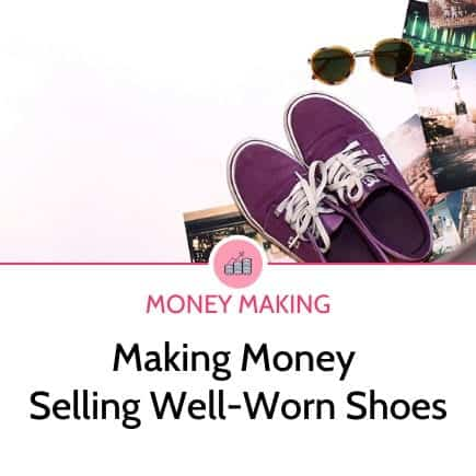 Make money selling smelly shoes