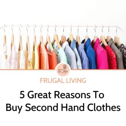 5 great reasons to buy second hand clothes