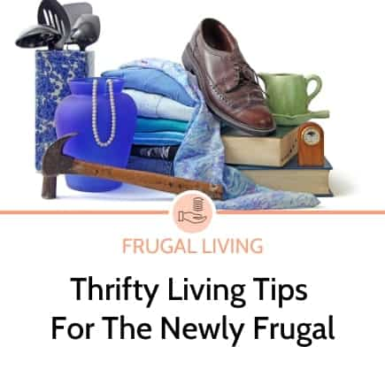 Thrifty tips for the newly frugal