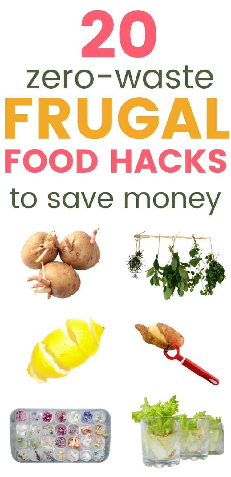 20 zero waste frugal food hacks to save money
