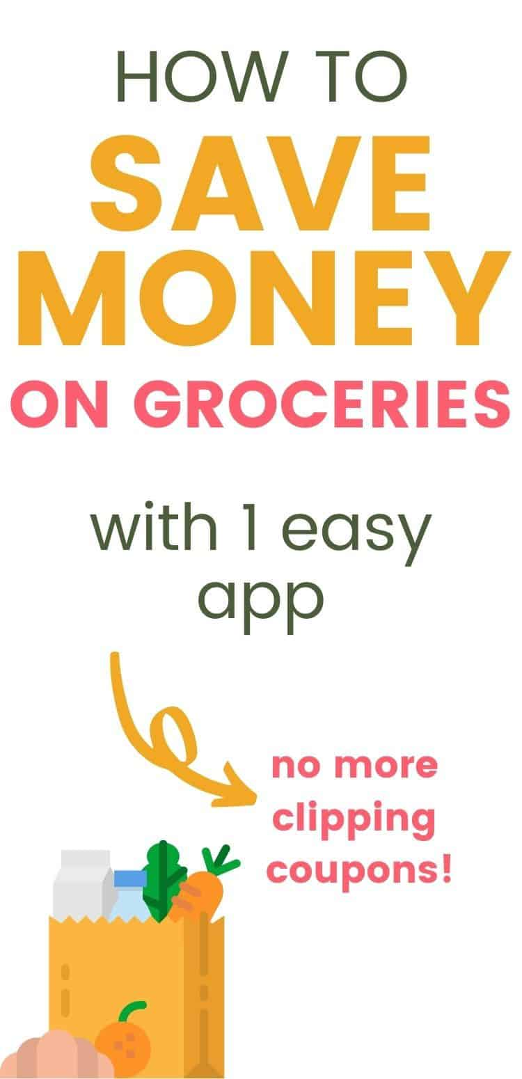 How to save money on groceries with one easy app